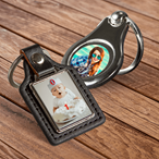 Deluxe Custom Photo Key Chains